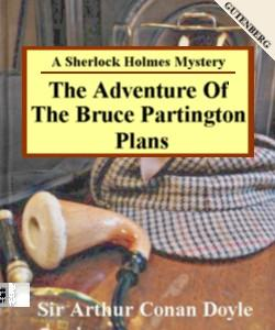 Cover Art for The Adventure of the Bruce-Partington...