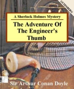 Cover Art for The Adventure of the Engineer's Thumb...