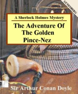 Cover Art for The Adventure of the Golden Pince-Nez...