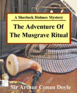 Cover Art for The Adventure of the Musgrave Ritual:...