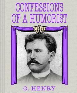 Cover Art for Confessions of a Humorist