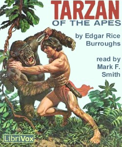 Cover Art for Tarzan of the Apes