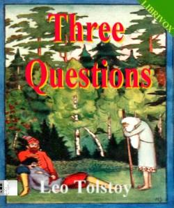 Cover Art for Three Questions