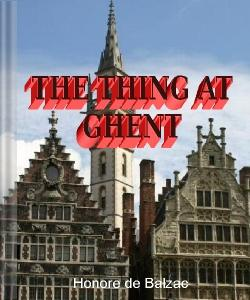 Cover Art for The Thing at Ghent