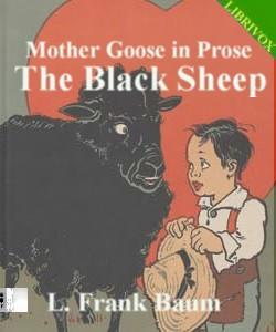 Cover Art for Mother Goose in Prose:The Black Sheep
