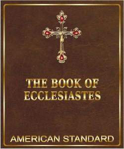 Cover Art for The Book of Ecclesiastes