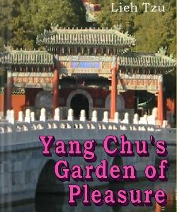 Cover Art for Yang Chu's Garden of Pleasure