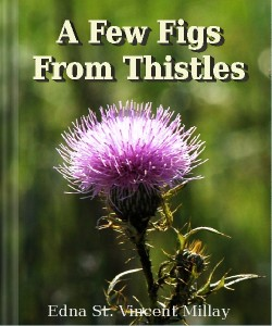 Cover Art for A Few Figs from Thistles