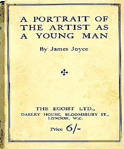 Cover Art for A Portrait of the Artist as a Young Man