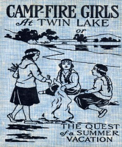 Cover Art for Campfire Girls at Twin Lakes