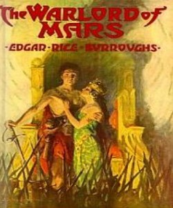 Cover Art for Warlord of Mars