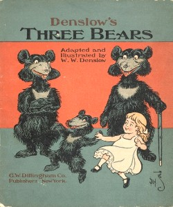 Cover Art for Denslow's Three Bears