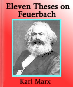 Cover Art for Eleven Theses on Feuerbach