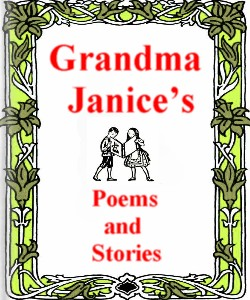Cover Art for Grandma Januce's Poems and Stories