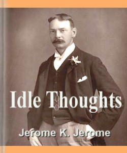 Cover Art for Idle Thoughts of an Idle Fellow