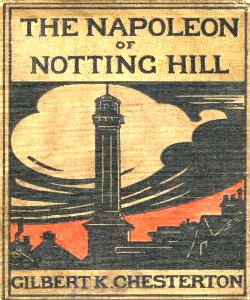 Cover Art for The Napoleon of Notting Hill