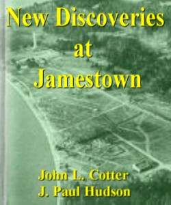 Cover Art for New Discoveries at Jamestown