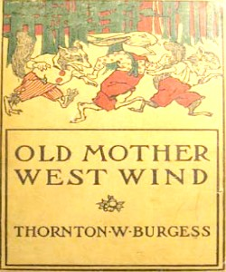 Cover Art for Old Mother West Wind