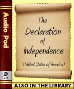 Audio Book Declaration of Independence