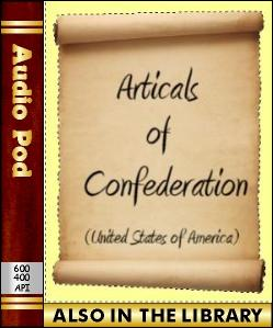 Audio Book Articles of Confederation