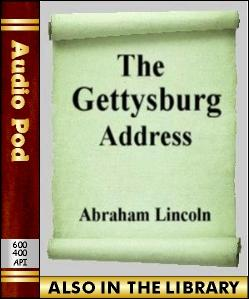 Audio Book The Gettysburg Address