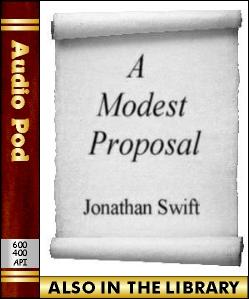 Audio Book A Modest Proposal