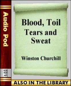 Audio Book Blood, Toil, Tears and Sweat