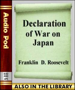 Audio Book Declaration of War on Japan