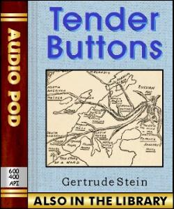 Audio Book Tender Buttons
