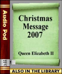 Audio Book Christmass Message 2007