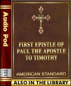 Audio Book The First Epistle of Paul to Timothy
