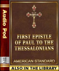 Audio Book The First Epistle of Paul to the Thes...