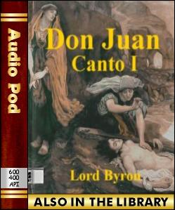 Audio Book Don Juan:Canto I