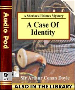Audio Book A Case of Identity:A Sherlock Holmes ...
