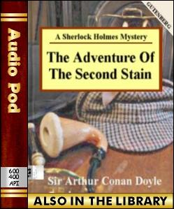 Audio Book The Adventure of the Second Stain:A S...