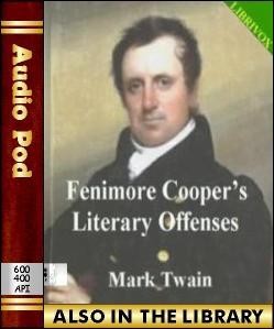 Audio Book Fenimore Cooper's Literary Offenses