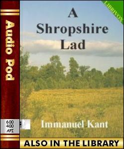 Audio Book A Shropshire Lad