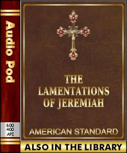 Audio Book The Lamentations of Jeremiah