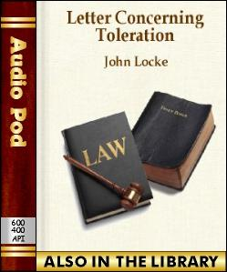 Audio Book Letter Concerning Toleration
