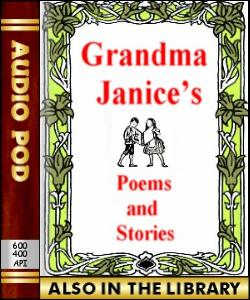 Audio Book Grandma Januce's Poems and Stories