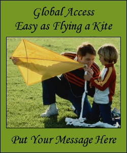 Advertisment Easy as Flying a Kite